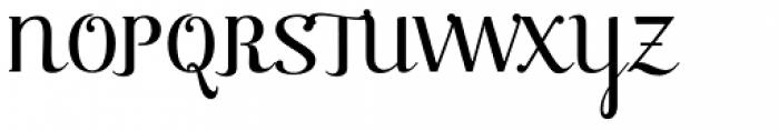 Raniscript Font UPPERCASE