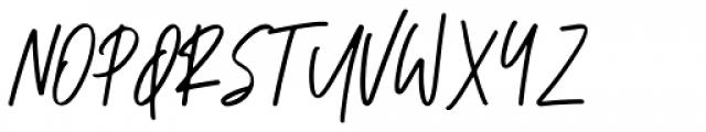 Ranormal Regular Font UPPERCASE