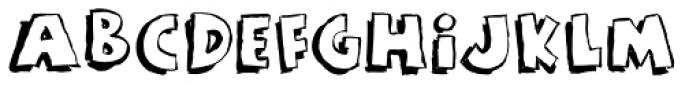 Rant Font UPPERCASE