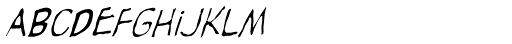 Rant Font LOWERCASE