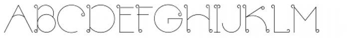 Rapazola Light Font UPPERCASE