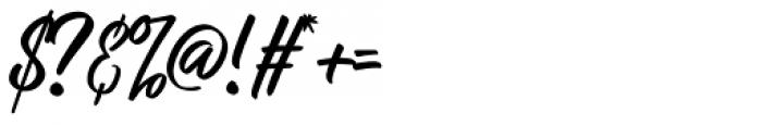 Raph Lanok Rusty Font OTHER CHARS