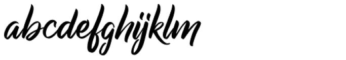 Raph Lanok Font LOWERCASE