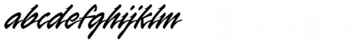 Rapier Font LOWERCASE