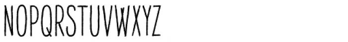 Raski Bold Condensed Font UPPERCASE