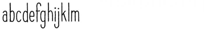 Raski Bold Condensed Font LOWERCASE