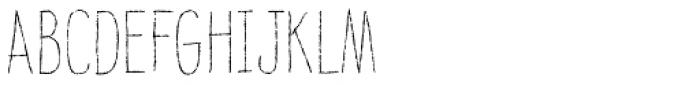 Raski Light Font UPPERCASE