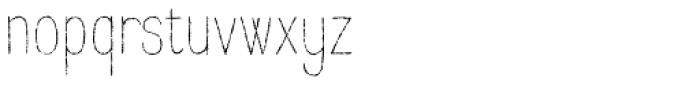 Raski Light Font LOWERCASE