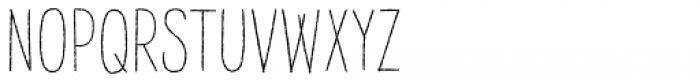 Raski Regular Font UPPERCASE