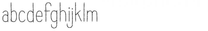 Raski Regular Font LOWERCASE