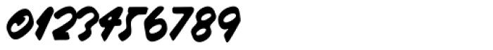Raspberry Script Font OTHER CHARS
