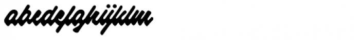 Raspberry Script Font LOWERCASE