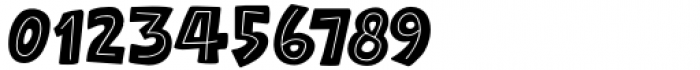 Raspberry Sherbet Inline Regular Font OTHER CHARS