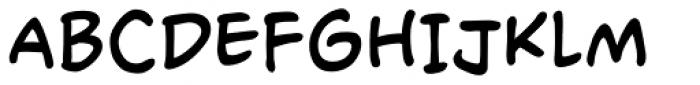 Rassum Frassum Regular Font UPPERCASE