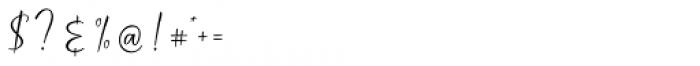 Rastanty Cortez Regular Font OTHER CHARS
