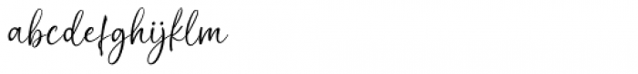 Rastanty Cortez Regular Font LOWERCASE