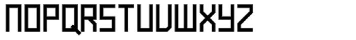 Raster Black Font UPPERCASE