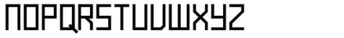 Raster Bold Font UPPERCASE