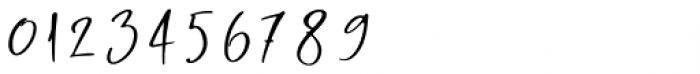 Rasty King Regular Font OTHER CHARS