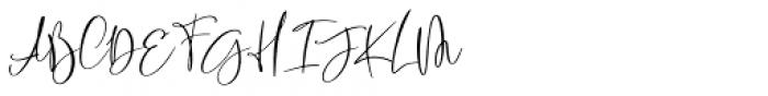 Rasty King Regular Font UPPERCASE
