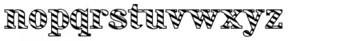 Rataczak Candied Font LOWERCASE