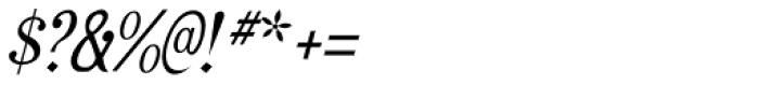 Rataczak Cond Italic Font OTHER CHARS