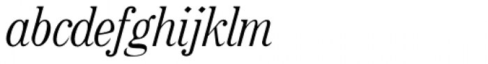 Rataczak Cond Italic Font LOWERCASE
