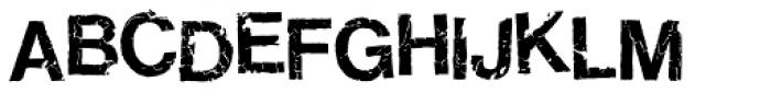 Ratbag Font UPPERCASE