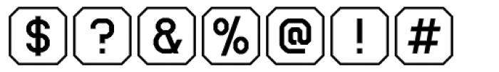 Ratcaps Mac Font OTHER CHARS