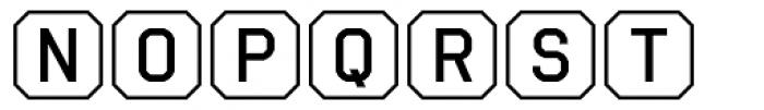 Ratcaps Mac Font UPPERCASE