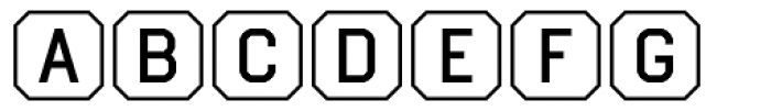 Ratcaps Mac Font LOWERCASE