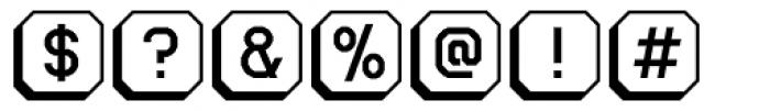 Ratcaps PC 3D Font OTHER CHARS