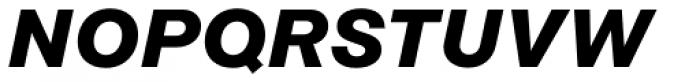 Rational Display Bold Italic Font UPPERCASE