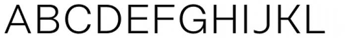 Rational Display DEMO Light Font UPPERCASE