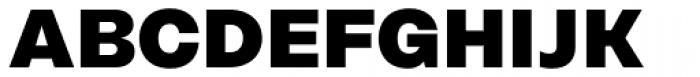 Rational Display ExtraBold Font UPPERCASE