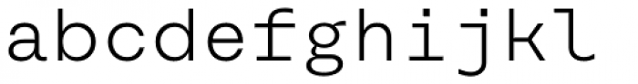 Rational TW Text DEMO Light Font LOWERCASE