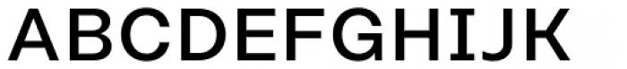Rational Text Medium Font UPPERCASE