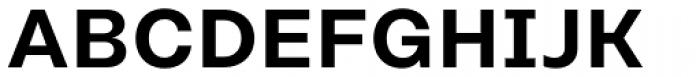 Rational Text SemiBold Font UPPERCASE