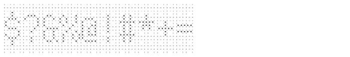 Rauschen 01 Font OTHER CHARS
