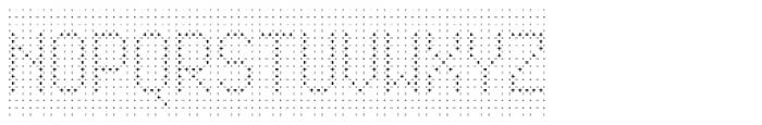 Rauschen 01 Font UPPERCASE
