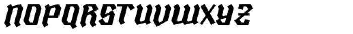 Ravenholm Slant Font UPPERCASE