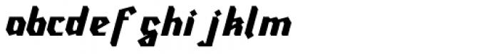 Ravenholm Slant Font LOWERCASE