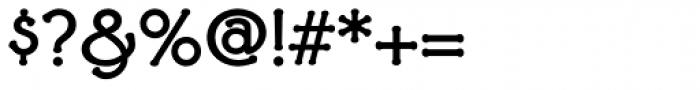 Ravenna Bold Font OTHER CHARS