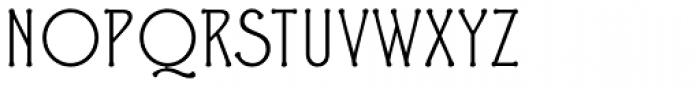 Ravenna Light Font UPPERCASE