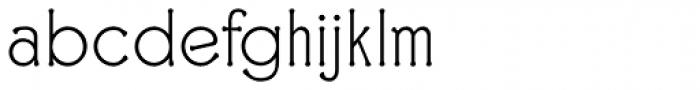 Ravenna Light Font LOWERCASE