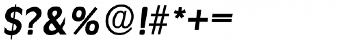 Ravenna Serial Bold Italic Font OTHER CHARS