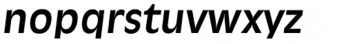 Ravenna Serial Bold Italic Font LOWERCASE