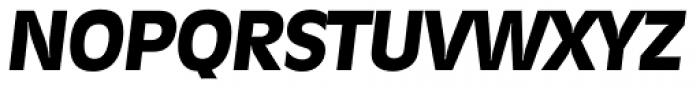 Ravenna Serial ExtraBold Italic Font UPPERCASE