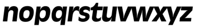 Ravenna Serial ExtraBold Italic Font LOWERCASE