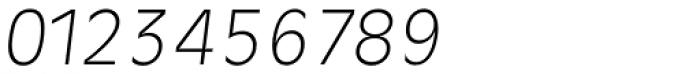 Ravenna Serial ExtraLight Italic Font OTHER CHARS